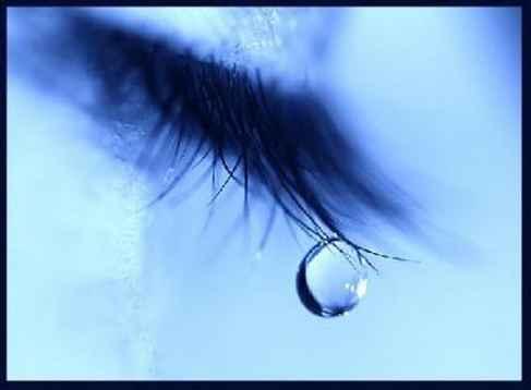 larme qui coule